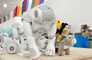 Robotica sociale per aiutare i bambini autistici