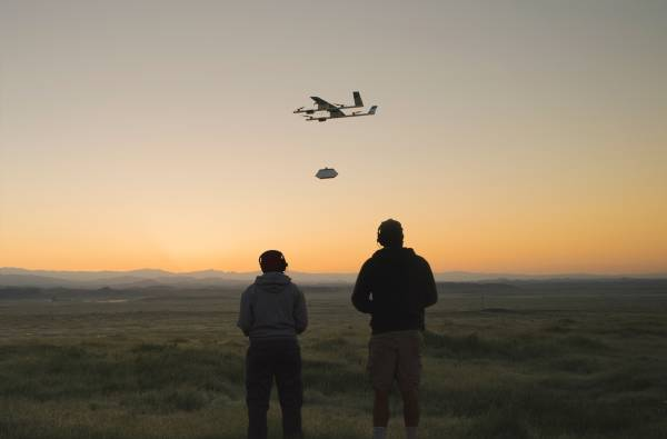 Project Wing - Quelli di Google X sperimentano il drone in California