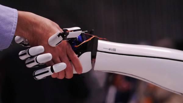 La mano robotica Handiii