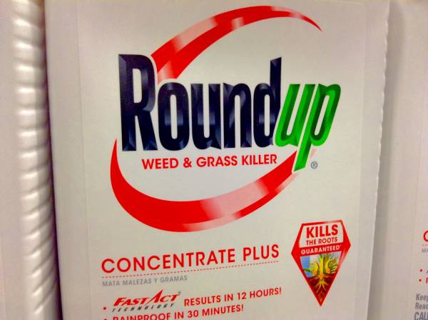 Una scatola di Roundup