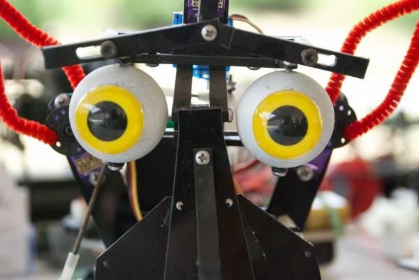 Gli occhi di un robot
