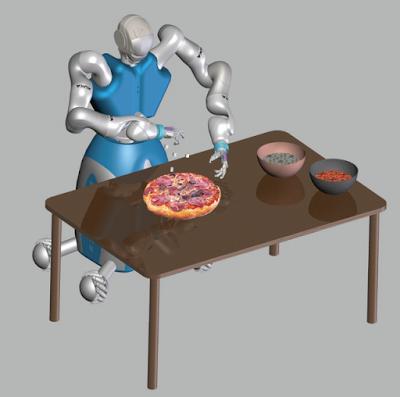 Il robot pizzaiolo RoDyMan