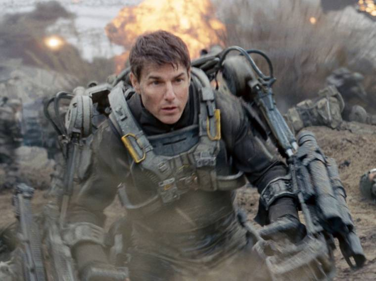 "Il protagonista del film ""Edge of Tomorrow"" indossa un esoscheletro"
