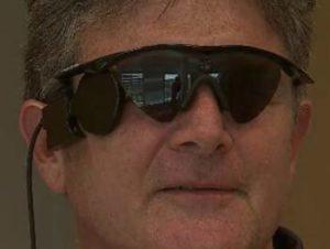 Steve McMillin e i suoi occhi bionici