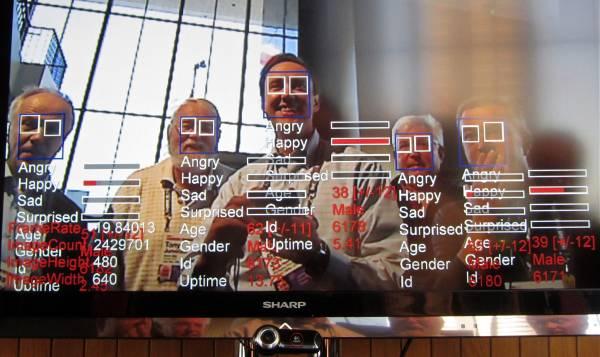 Un sistema di riconoscimento facciale