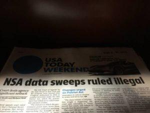 Un giudice federale ha ordinato di fermare la sorveglianza telefonica dell'NSA