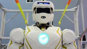 Il robot Valkyrie in preparazione per le missioni spaziali