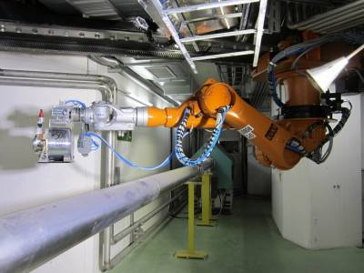 Un robot del Cern