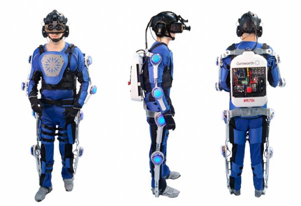 L'esoscheletro R70i