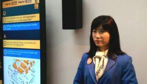 Il robot Chihira della Toshiba sembra ancora più umano