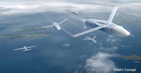 Gremlins, i droni della DARPA