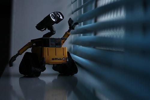 Un piccolo robot