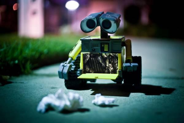 Il robot Wall-E