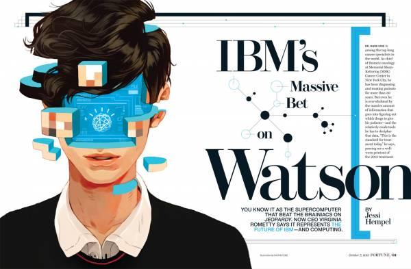 L'intelligenza artificiale Watson di IBM