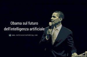 Obama sul futuro dell'intelligenza artificiale