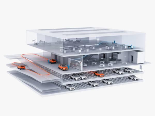Concept di Audi sul futuro dei veicoli autonomi
