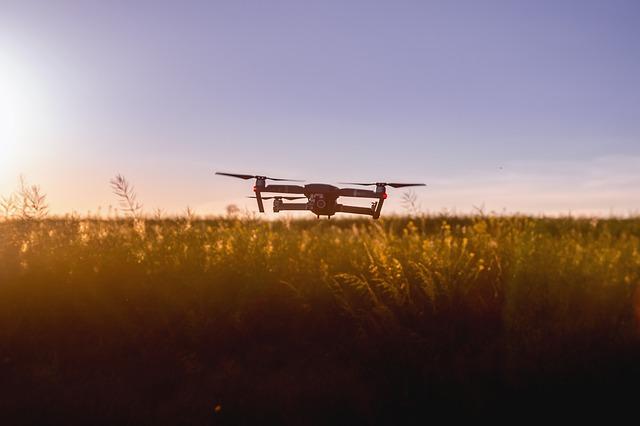 Un drone per l'agricoltura